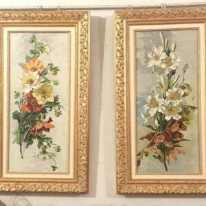"""Пара картин """"Цветы"""""""