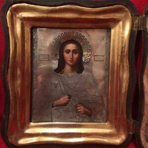 """Икона """"Св. Георгий"""" в киоте"""
